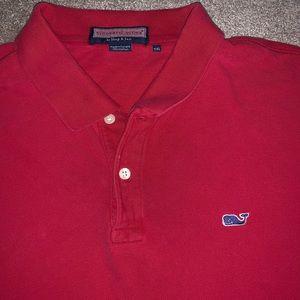 Mens XXL Vineyard Vines Polo Shirt Short Sleeve